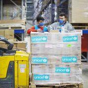 اليونيسف تؤمّن اللوازم الضرورية والدعم التقني لمكافحة فيروس كورونا في لبنان