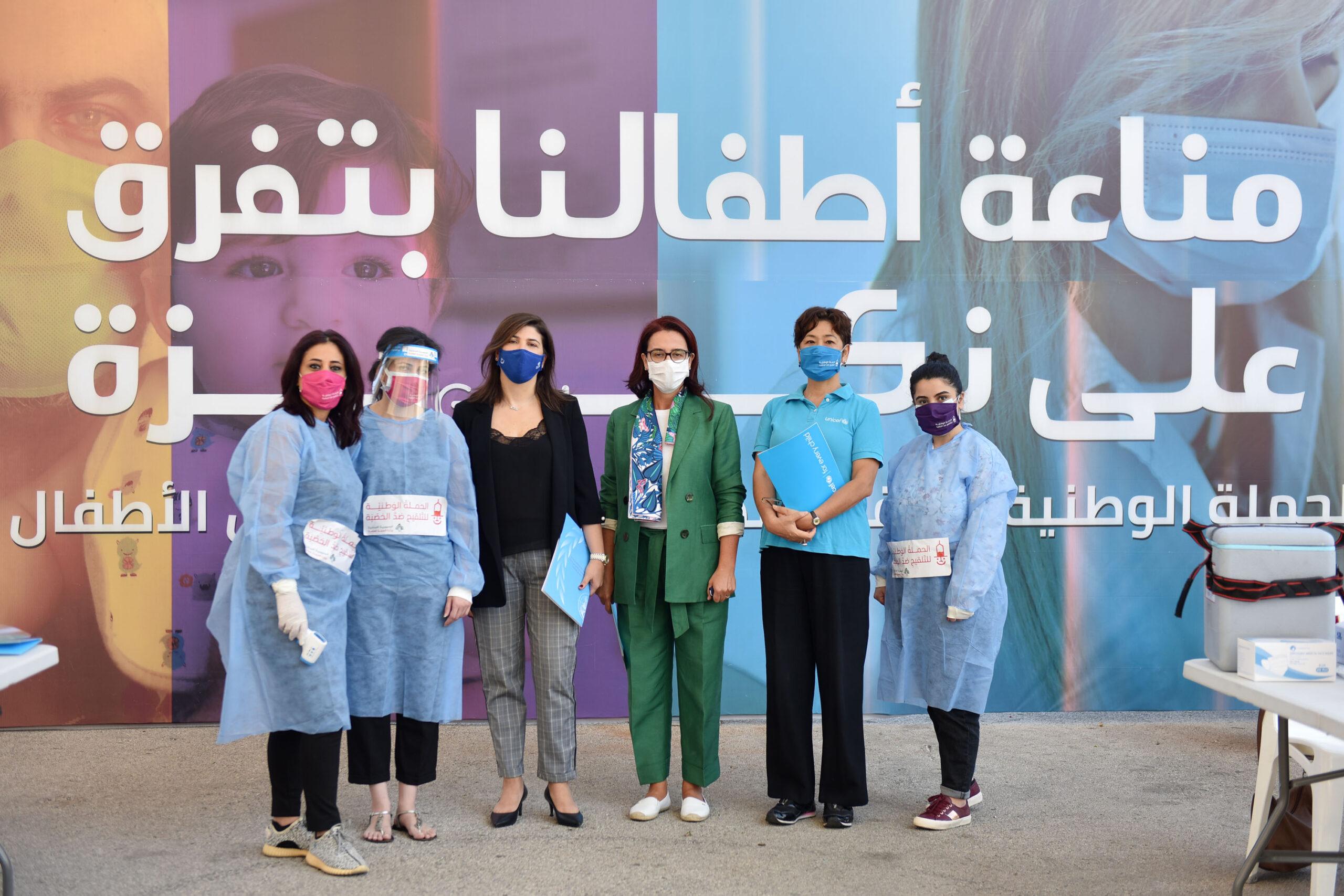 إطلاق المرحلة الثانية من الحملة الوطنية للتلقيح ضدّ الحصبة وشلل الأطفال رغم صعوبات فيروس كورونا